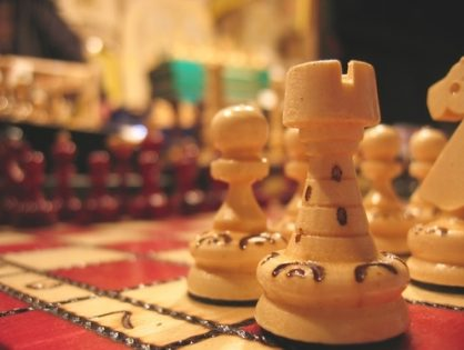 Chess and the Art of Home Décor